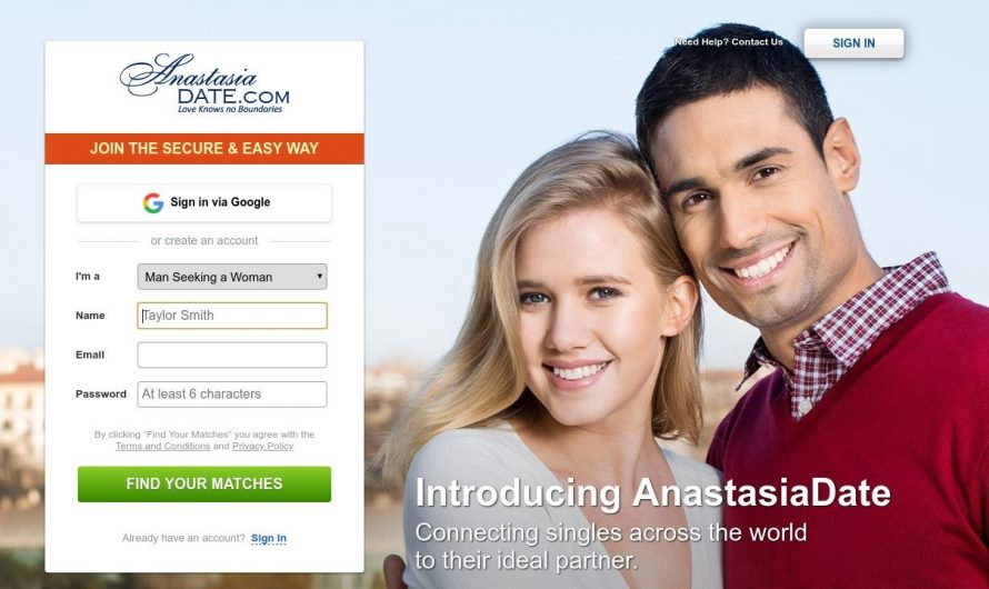 Anastasia Date Dating Review